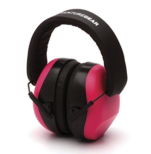 Pyramex Safety Venture Gear VG80 Series Adult Hearing Protection Earmuff, Pink, VG (Pyramex Hearing Protection)