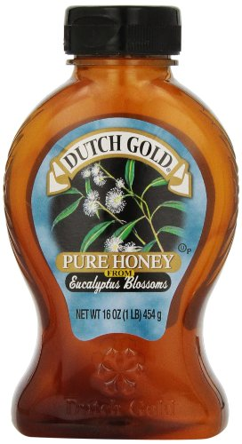 Dutch Gold Honey Honey Ecualyptus, 16 Ounce (Pack of 6