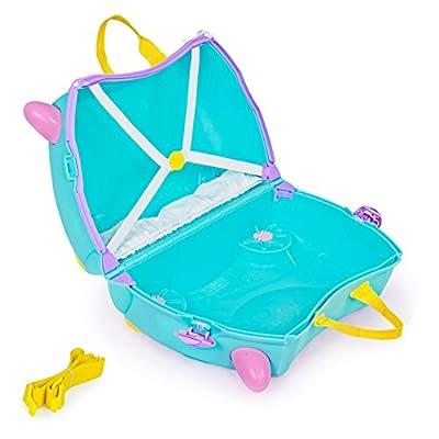Trunki Girls, Una Unicorn (Turquoise) | Kids' Luggage