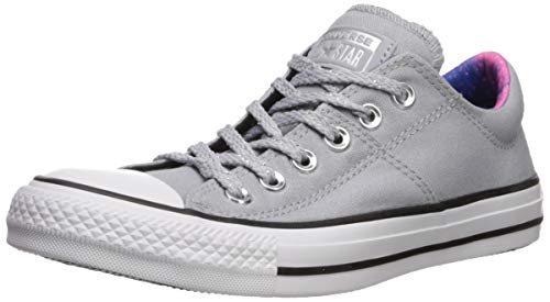 Converse Women's Chuck Taylor All Star Madison Final Frontier Sneaker, Wolf Grey/White/Black, 8.5 M US