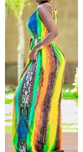 Coolred-femmes Soirée Manches Sexy Club Impression Numérique De Grande Hauteur Robes Colorées As1