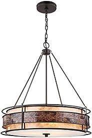 ELK Lighting 70264/3 Chandelier, One Size, Bronze