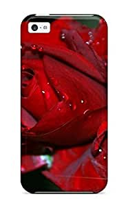 Premium Flower Earth Nature Flower Back Cover Snap On Case For ipod touch4