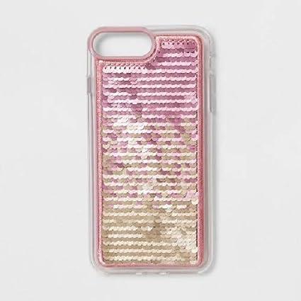 new arrival e9b35 5f872 Amazon.com: Heyday Apple iPhone 8 Plus/7 Plus/6s Plus/6 Plus Sequin ...