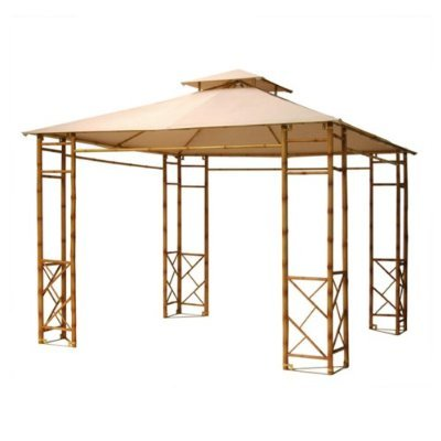 Mai Tiki Bamboo Gazebo Replacement Canopy Top Cover