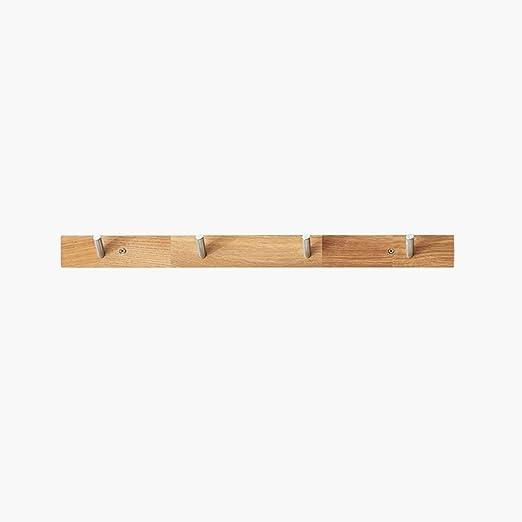Amazon.com: Estante de pie para perchero de madera maciza ...