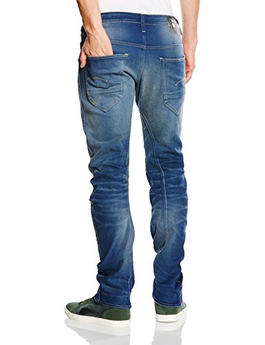 Aged Raw star Uomo medium G blau 071 Jeans Blu x6q05ZwvB