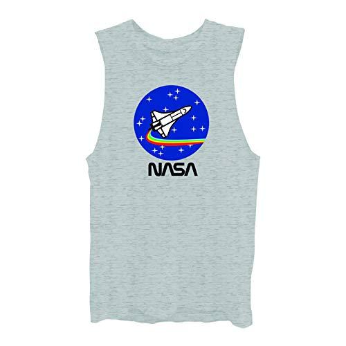 shion Shirt - NASA Classic Logo Lettuce Edge Tee (True Black, X-Large) ()