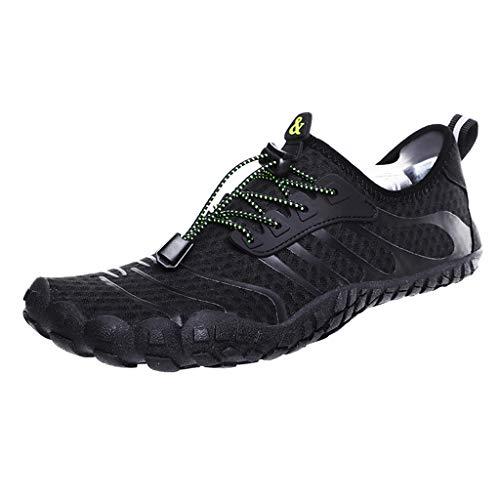 Yucode Mens Water Sports Shoes Quick Dry Barefoot Aqua Socks Swim Shoes for Pool Yoga Shoes Beach Walking Running