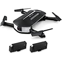 OneHomeStore MINI BABY ELFIE Foldable RC Drone RTF WiFi FPV 720P HD/G-sensor Controller/Waypoints (WITH TWO BATTERIES)