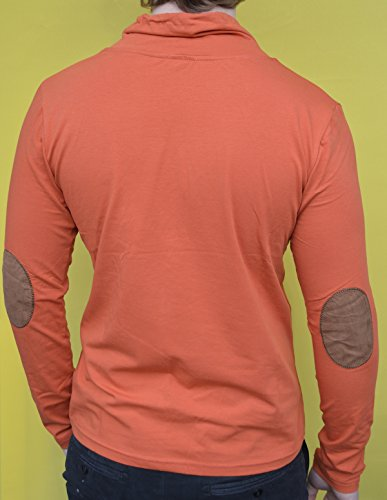 Brandneu !!! Designer Longsleeve T-Shirt von CARISMA in Ziegel CRM3038