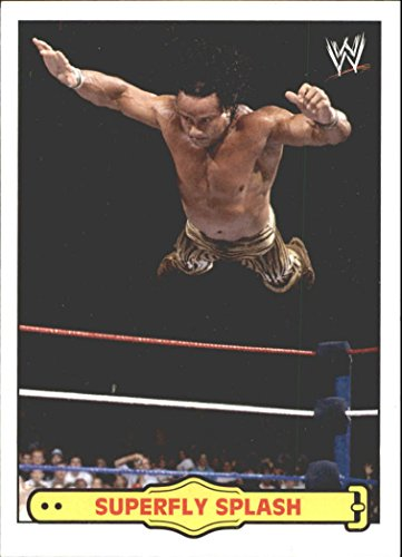 2012 Topps Heritage Wwe Ringside Action  1 Jimmy Superfly Snuka Superfly Splash   Nm Mt