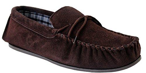 Mokkers - mocasines hombre marrón