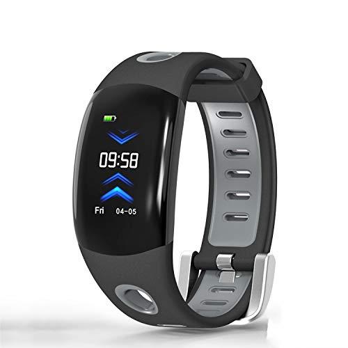 C-Xka Monitor de estado físico Monitor de estado físico Monitor de ritmo cardíaco IP68 Impermeable Pulsera inteligente...