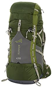 ALPS Mountaineering Shasta 4200 Internal Frame Pack-Green from ALPS Mountaineering