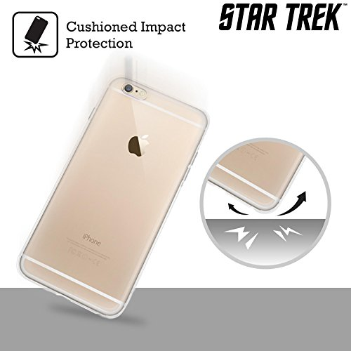 Officiel Star Trek Empire Klingon Insignes Étui Coque en Gel molle pour Apple iPhone 6 / 6s