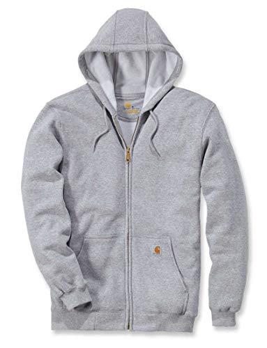 Uomo Con Workwear Felpa Carhartt Cappuccio Grigio IZ7aq