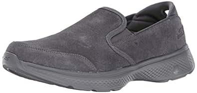Skechers Performance Men's Go 4-54173 Walking Shoe,Charcoal,10 M US