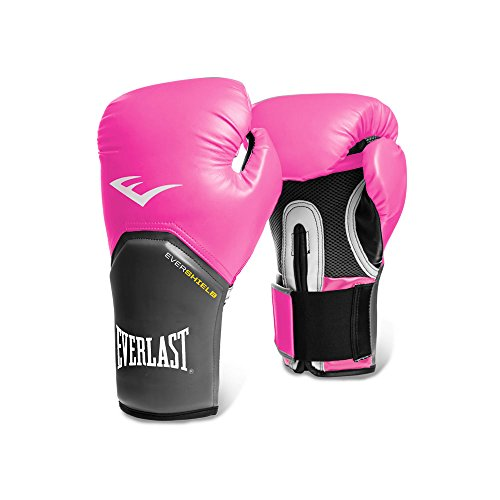 (Everlast Women's Pro Style Training Gloves (Pink, 12)