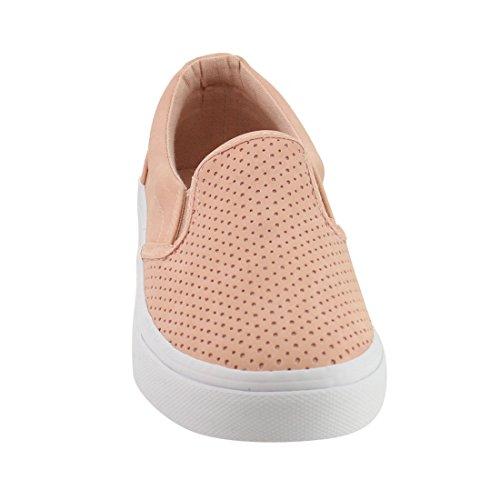 Sole Nubuck Pink Women's Tracer Slip Shoes Soda On White HvYwPqW