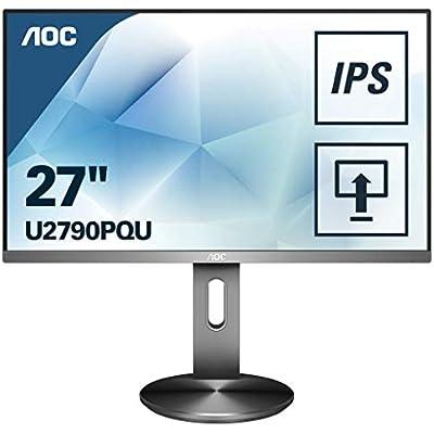 AOC U2790PQU Monitor Grey
