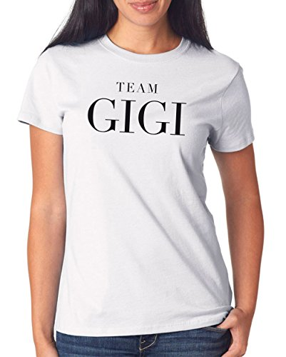 Team Gigi T-Shirt Girls White Certified Freak
