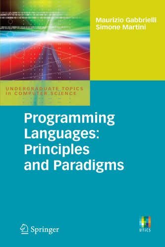 Programming Languages: Principles and Paradigms (Undergraduate Topics in Computer Science) by Brand: Springer