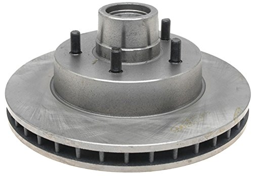 ACDelco 18A2A Advantage Non-Coated Front Disc Brake Rotor and Hub -
