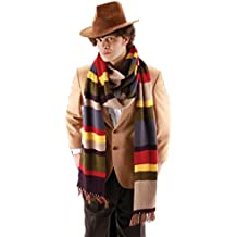 Authentic Licensed 4th DOCTOR WHO 12 FOOT GIANT KNIT SCARF Cosplay Tom Baker-NEW