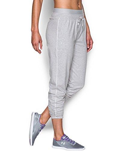 Under Armour Women's Favorite Slim Leg Jogger Pant, Air Force Gray Heath (053), X-Small