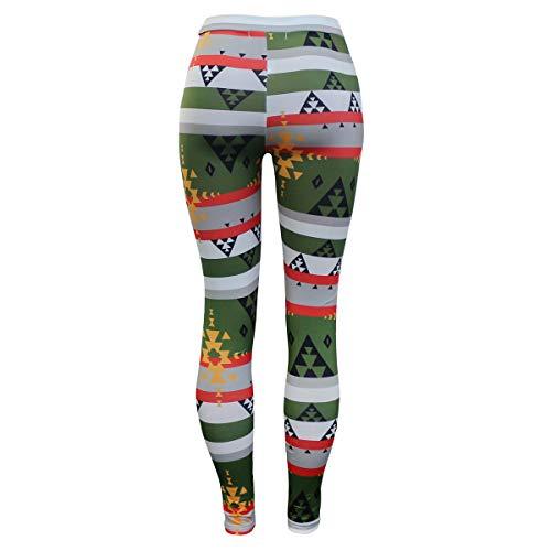 Cintura Skinny Estampado Mujeres Largos Entrenamiento Pantalones Yoga De  Green Alta Dark Leggings Sport Floral ExAAYqwz 7fe88376ce6c