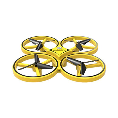 - LEANO Mini LED Light Drone Remote Control Toys Interactive Induction RC Quadcopter Flying Toys
