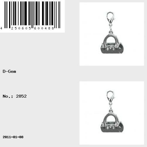 Charm sac à main rouge de la marque Charming Charms