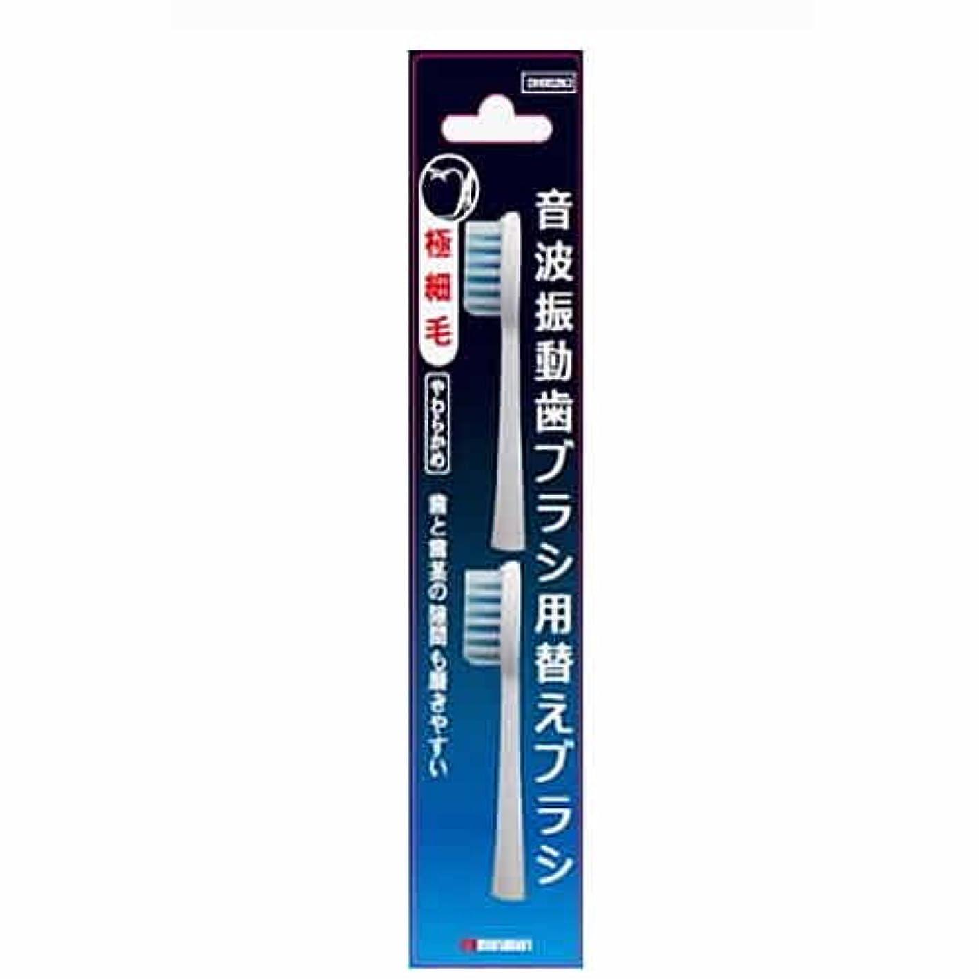 遠い安定した所得マルマン 電動歯ブラシ ミニモ/プロソニック1/プロソニック2/プロソニック3 対応 替えブラシ 極細毛 DK002N2 2本組