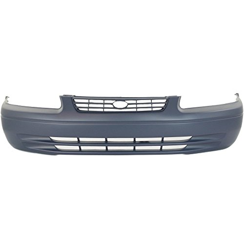 - Front Bumper Cover Primed Compatible with 1997-1999 Toyota Camry