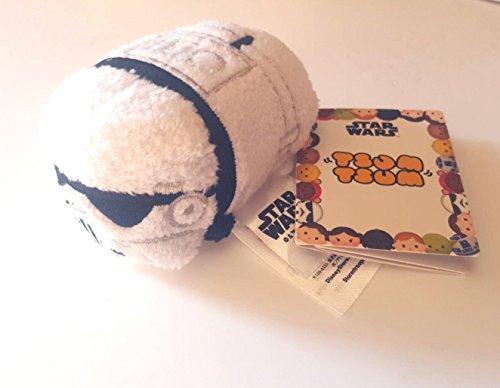 New Disney Store Mini 3.5 Tsum Tsum Stormtrooper (Star Wars Collection) (New Stormtrooper)