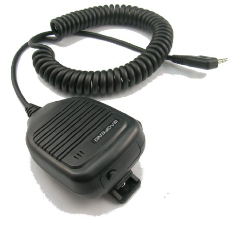 BaoFeng Dual Push-To-Talk (PTT) Speaker Mic for UV-82 Series - Backward Compatible by BAOFENG (Image #1)