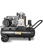 FEIDER Compresseur d'air 200L Horizontal 3cv 8 Bars 230V