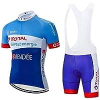 STEPANZU Ropa Ciclismo Verano Hombre Corta Maillot MTB