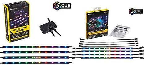 Corsair RGB LED Lighting PRO Expansion Kit Strips CL-8930002 RGB
