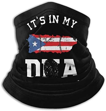 Puerto Rico Pride ネックカバー UVカット バンダナ 通勤 通学 フェイスガード 多機能 マジックスカーフ