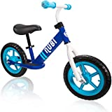 "Nubi Sprint 12"" Kids Balance Bike – Ages 18 Months to 5 Years Pedal-Less Toddler Bike for Boys and Girls"