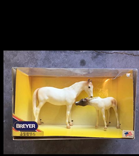 Breyer horse vintage Medicine Hat mare foal set new
