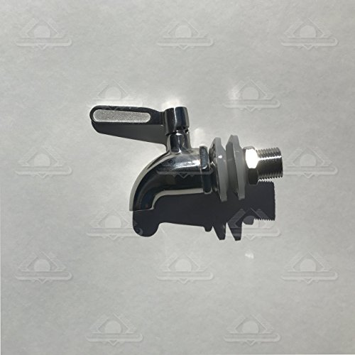 Geniune Berkey Stainless Steel Spigot - Fits all Berkey Stainless Steel Systems by Berkey