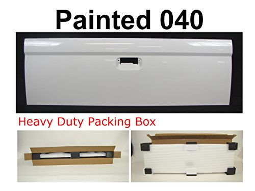 - TAILGATE PAINTED 040 Super White TO1900106 FOR 1995-2004 TOYOTA TACOMA STANDARD BED
