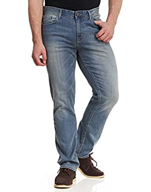 Calvin Klein Men's Slim Straight Leg Jeans