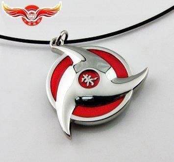 Girl&boy's Necklace Naruto Itachi Uchiha Sya Rin Gan Necklace Fashion Necklace Girl&boy's Gifts