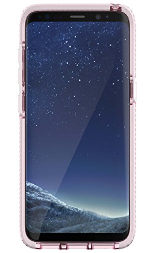 Evo Check Case for Galaxy S8 - Rose Tint/White