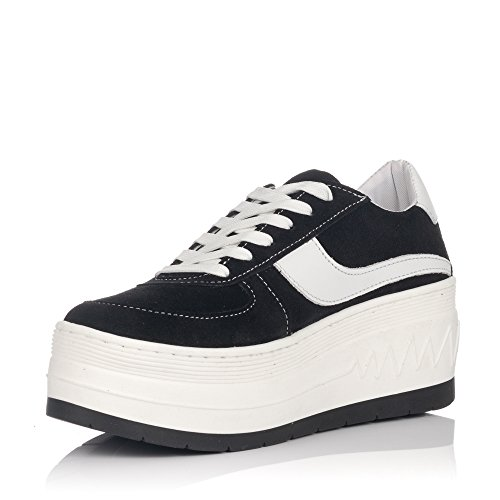 Sneakers Platform by Sixtyseven SEVEN Nero SIXTY Black gwxqtFz