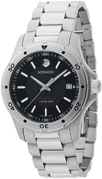 Movado Series 800 40mm Stainless Steel Bracelet Men's Watch